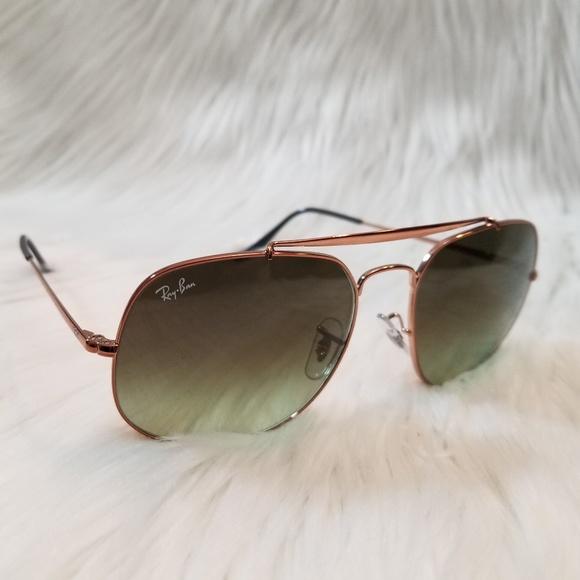 67b1e8f22eb Ray Ban Sunglasses Bronze Copper Green Gradient